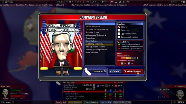 The Political Machine 2012 on PC screenshot #6