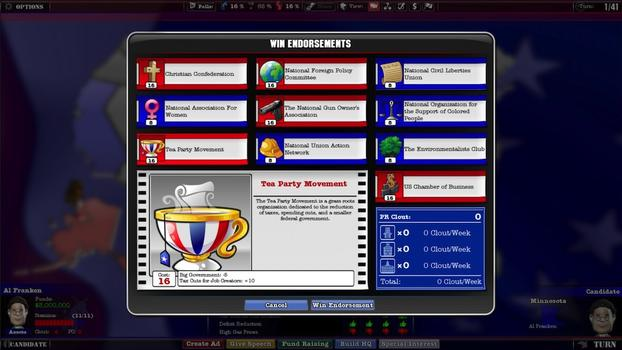 The Political Machine 2012 on PC screenshot #4
