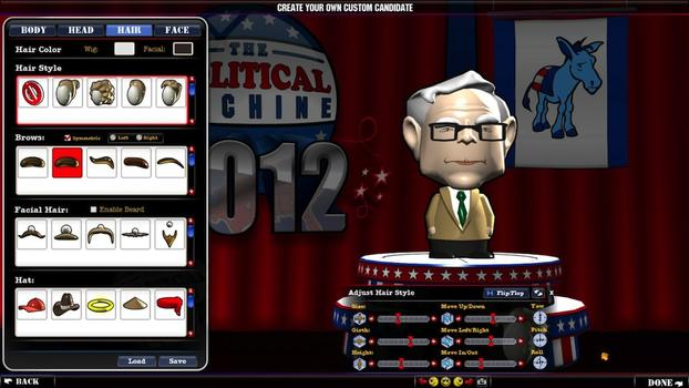 The Political Machine 2012 on PC screenshot #2