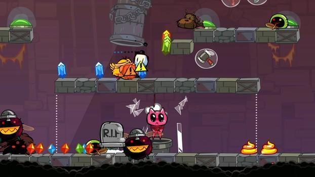 Poöf vs The Cursed Kitty on PC screenshot #1