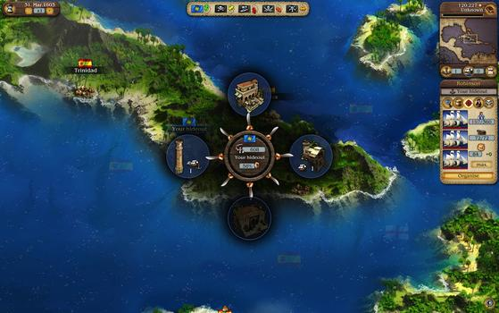 Port Royale 3: Dawn of Pirates on PC screenshot #3