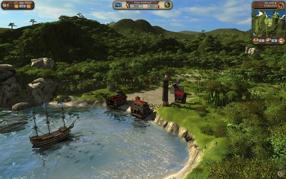 Port Royale 3: Dawn of Pirates on PC screenshot #1