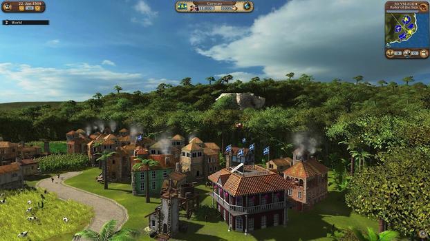 Port Royale 3: Harbour Master on PC screenshot #1