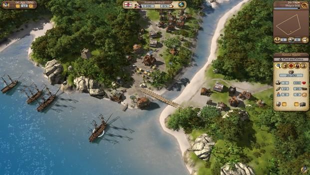 Port Royale 3: Pirates and Merchants on PC screenshot #2