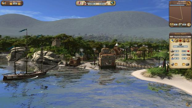 Port Royale 3: Pirates and Merchants on PC screenshot #3