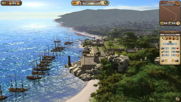 Port Royale 3: Pirates and Merchants on PC screenshot #4