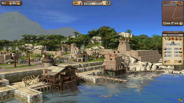 Port Royale 3: Pirates and Merchants on PC screenshot #1
