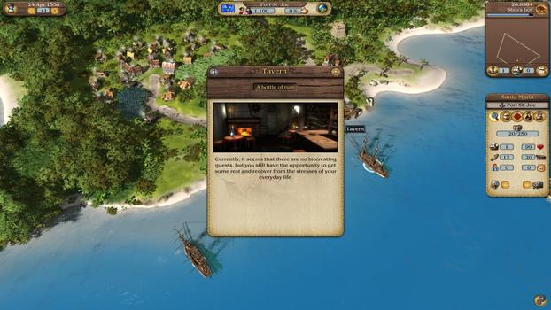 Port Royale 3: Pirates and Merchants on PC screenshot #6