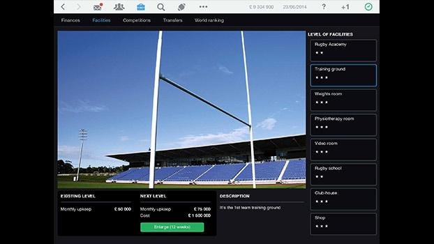 Pro Rugby Manager 2015 on PC screenshot #2