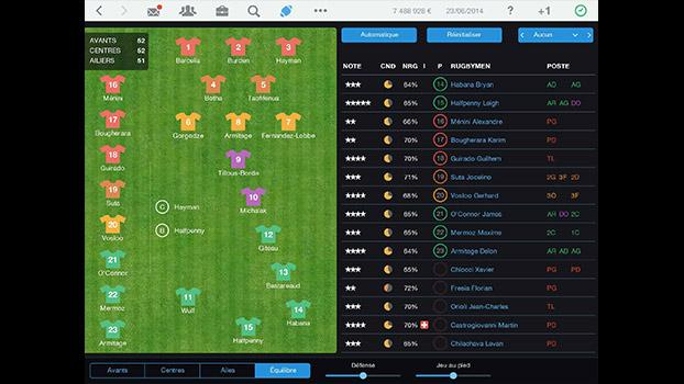 Pro Rugby Manager 2015 on PC screenshot #1