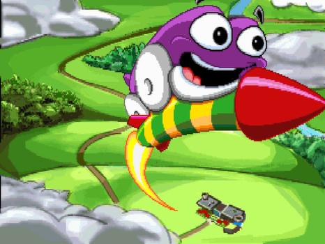 Putt-Putt Goes to the Moon on PC screenshot #1