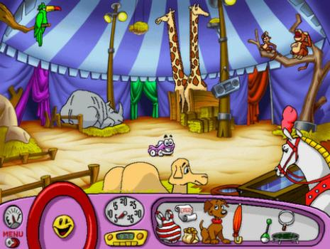 Putt-Putt Joins the Circus on PC screenshot #4