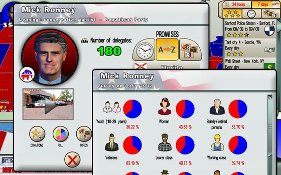 The Race for the White House on PC screenshot #2