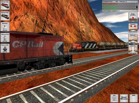 Rail Cargo Simulator on PC screenshot #1