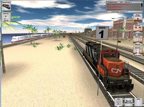 Rail Cargo Simulator on PC screenshot #3