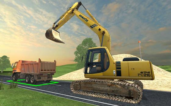 Road Works Simulator on PC screenshot #1