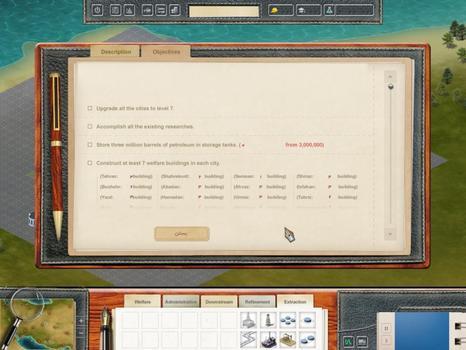 Rockefeller - The Black Gold on PC screenshot #1