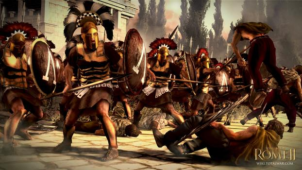 Total War: Rome II - Greek States DLC on PC screenshot #1