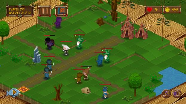 Selknam Defense on PC screenshot #7