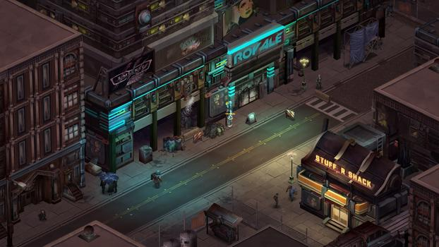 Shadowrun Returns on PC screenshot #4