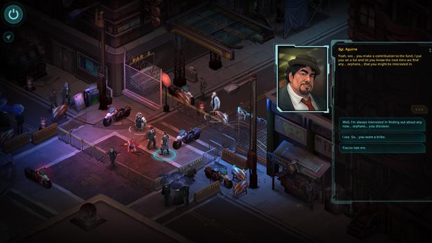 Shadowrun Returns on PC screenshot #2