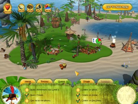 Shaman Odyssey - Tropic Adventure on PC screenshot #1