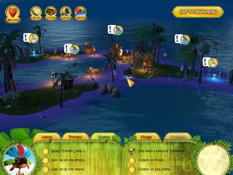 Shaman Odyssey - Tropic Adventure on PC screenshot #2