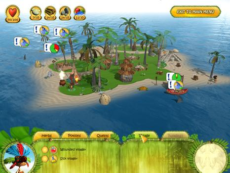 Shaman Odyssey - Tropic Adventure on PC screenshot #3