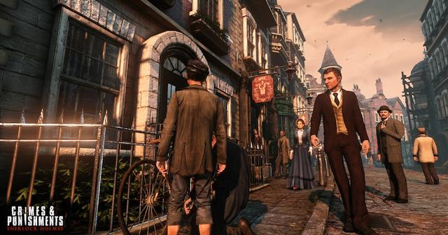 Sherlock Holmes: Crimes and Punishments on PC screenshot #1