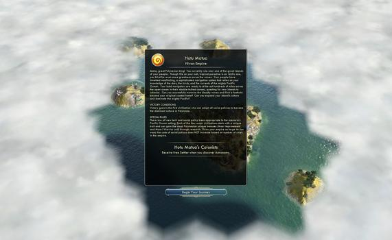 Sid Meier's Civilization® V: Civilization and Scenario Pack - Polynesia on PC screenshot #3