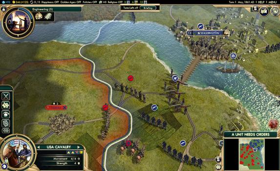 Sid Meier's Civilization® V: The Complete Edition (MAC) on PC screenshot #6