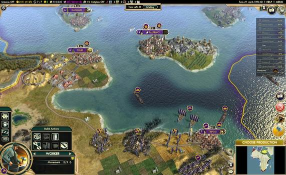 Sid Meier's Civilization® V: The Complete Edition (MAC) on PC screenshot #4