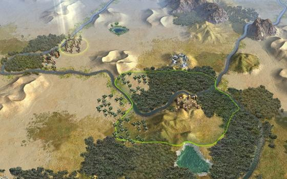 Sid Meier's Civilization® V: Explorers Map Pack (MAC) on PC screenshot #1