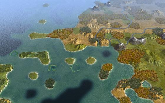 Sid Meier's Civilization® V: Explorers Map Pack on PC screenshot #1