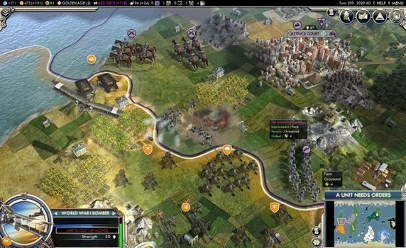 Sid Meier's Civilization® V: Gods and Kings (MAC) on PC screenshot #2