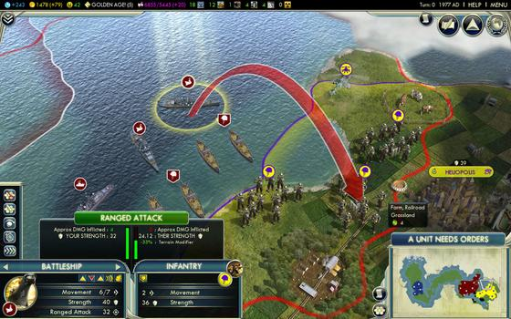 Sid Meier's Civilization® V (MAC) on PC screenshot #2