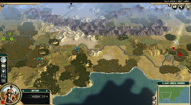 Sid Meier's Civilization® V: Scrambled Continents Map Pack (MAC) on PC screenshot #2