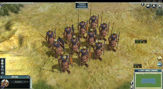 Sid Meier's Civilization® V: Wonders of the Ancient World Scenario Pack on PC screenshot #2