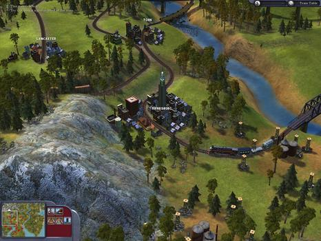 Sid Meier's Railroads! on PC screenshot #6