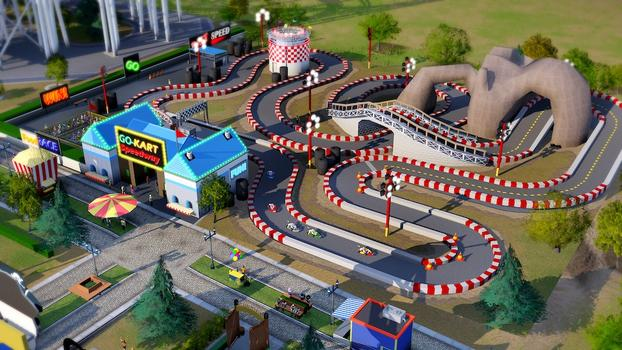 SimCity Amusement Park Pack (NA) on PC screenshot #5