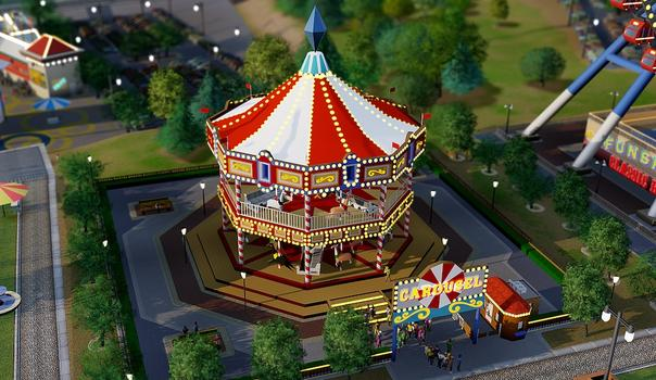 SimCity Amusement Park Pack (NA) on PC screenshot #3