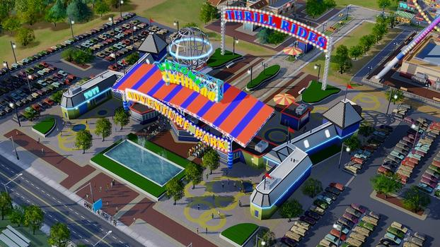 SimCity Amusement Park Pack (NA) on PC screenshot #2