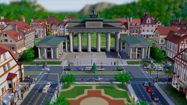SimCity German City Set (NA) on PC screenshot #1