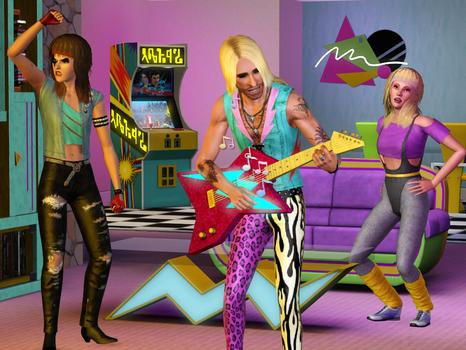 The Sims 3: 70s 80s & 90s Stuff Pack (NA) on PC screenshot #5