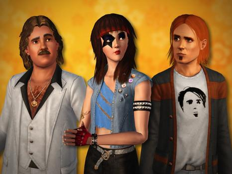 The Sims 3: 70s 80s & 90s Stuff Pack (NA) on PC screenshot #1