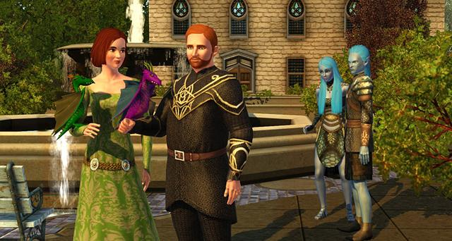 The Sims 3: Dragon Valley (NA) on PC screenshot #7