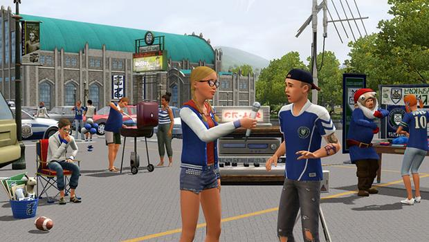 The Sims 3: University Life (NA) on PC screenshot #2