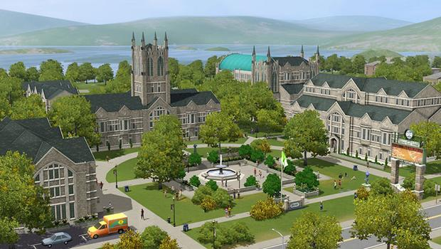 The Sims 3: University Life (NA) on PC screenshot #1