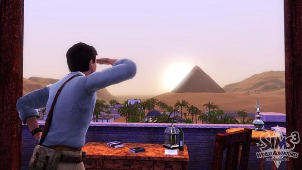 The Sims 3: World Adventures (NA) on PC screenshot #3