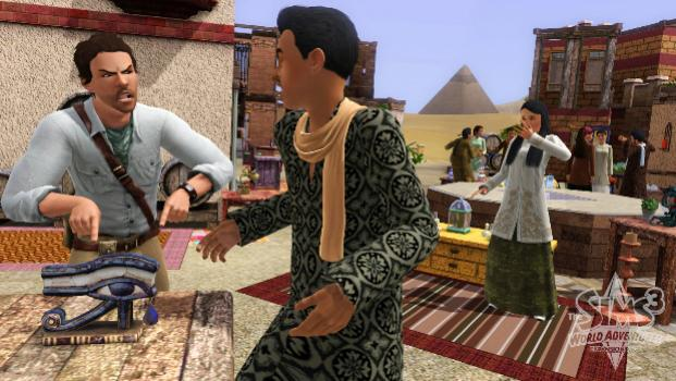 The Sims 3: World Adventures (NA) on PC screenshot #1